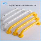 Household Antibacterial Nylon Wrap Steel Tube Handrail Bathroom Armrest White&Yellow 400/500/600mm