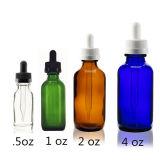 . 5oz 1 Oz 2 Oz 4 Oz Boston Round Glass Bottle with Child Resistant Dropper