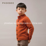 100% Lambswool Phoebee Wholesale Knitted Sweater Coat
