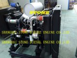 Cummins Diesel Engine 4BTA3.9 6BTA5.9 Diesel Engine with Control Panel and Radiator for Industry