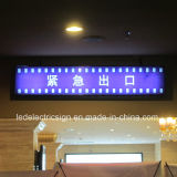 Ceiling Hanging Exit Lights with Direction LED Billboard