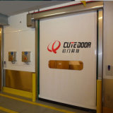 Industrial Electrical Operating PVC Fabric Clean Room Fast Rolling Shutter Door