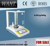 Hight Precision Digital Lab Electromagnetic Balance (500g*0.001g)