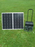 160W Folding Solar System Portable for Camping