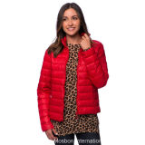 Women′s Sport Faux Down Jacket