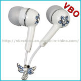 Funky Earphones Unique Earphones with Jewelry for Portable Media Player