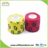 Hot Sale Medical Elastic Printed Cohesive Veterinary Bandage
