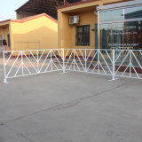 America Powder Coated White Crowd Control Event Barriers