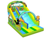 Forest Theme Standard Slide Bouncy Slide Inflatable Slide