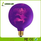 Not Dimmable G125 Warm White 2700K E26 1.4W LED Globe Bulb for Halloween Party