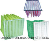 Nonwoven Pocket Filter for Collecting Dust