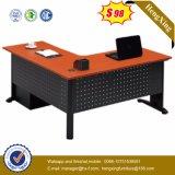 Powder Coating Metal Leg 6 Drawers Wooden Office Desk (HX-ND5018)