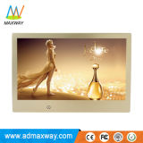 10 Inch Beautifully Gold Frame Photo Frame with MP3 MP4 HD Video (MW-1012DPF)