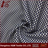 45% Cation 55% Polyester Blended Jacquard Mesh Knitted Fabric