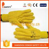Ddsafety 2017 Golden Chore Fleece Lined Warm Work Gloves