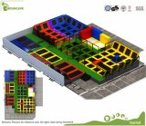 Safety Commercial Trampoline Park Equipment