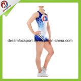Custom Sublimation Cheerleader Uniforms Cheerleading Practice Wear Sexy Tights