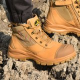 Branded Fashion Combat Army Leather Boots Sports Military Safety Shoes