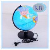 25mm Plastic World Globe with LED Light