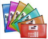 Bank Promotional Gift PU Purse Wallet Calculator