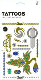 Fashion New Style 2016 Body Metallic Flash Tattoo Sticker