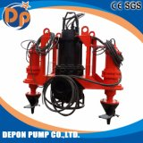 Centrifugal Single Stage Submersible Slurry Sand Pump with Agitator