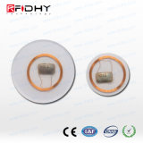 13.56MHz Passive RFID 1k Clear Laminate Disc Tags