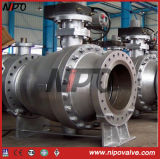 Two Piece Flanged Trunnion Mounted Ball Valve