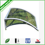 Aluminium Roof Balcony Canopy DIY Polycarbonate Plastic Awning/Sunshade for Doors & Windows