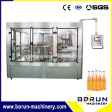 Glass Bottle Sparkling Water Bottling Line / Filling System