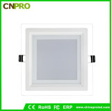 New Design Square LED Recessed Glass Panel Light for Decorative