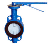 DF306 Double Axis Butterfly Valve Wafer Type