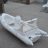 Liya 20ft Rigid Hull Fiberglass Inflatable Boat Rescue Boat Sale