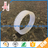 Low Noise Soft Flexible PVC Transparent Wheel Gear