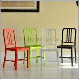Wholesale Plaza Shopping Mall Colorful Plastic Navy Chair (SP-UC060)