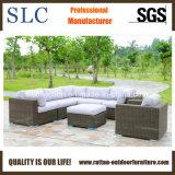 Outdoor Rattan Sofa Suite Set, Semi Circular Rattan Sofa Suite Set (SC-A7321)