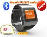 New Product Cms50k Wearable SpO2/ECG Monitor Wireless Bluetooth Smart Watch Calorie Monitor