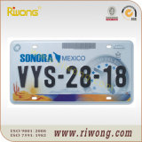 Mexico Security License Plate
