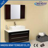 China Manufacturer Ceramic Basin Single Bathroom Vanity