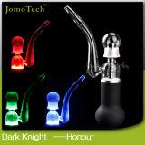 New Jomo E Cigarette Dark Knight-Honor Mechanical Mod Dry Herb Huge Vaporizer Pen Wax E-Liquid Tubes Ceramic Tank Electronic Cigarette Kit