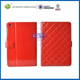 C&T Red Leather Stand Cover for iPad Mini