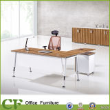 Pratical L-Shaped Manager Desk with 3 Drawers