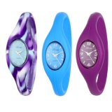 Lady′s Electronic Digital Silicone Sports Wrist Watches