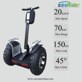 2 Wheel Brushless 4000 Watt Self Balancing Scooter 1266wh 72V Double Battery Golf Electric Scooter