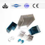 Blue and Natural Mat Anodized Extrusion Heatsink Aluminum Radiator