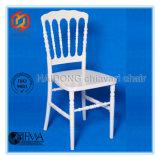 White Resin Party Napoleon Chair