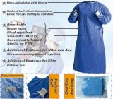 Disposable SMS/SMMS/Spunlace Medica Gown