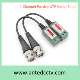1 Channel CCTV Passive Video BNC Connector Cat5 UTP Balun
