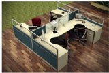 Modern Office Glass Partition Cubicle Workstation Furniture