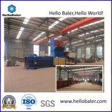 Auto-Hydraulic Baler Machine for Waste Paper Cardboard with Conveyor